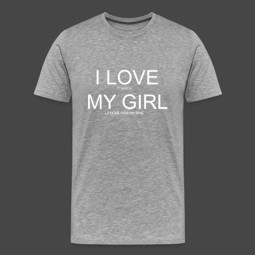 Read Between The Lines - Mannen Premium T-shirt