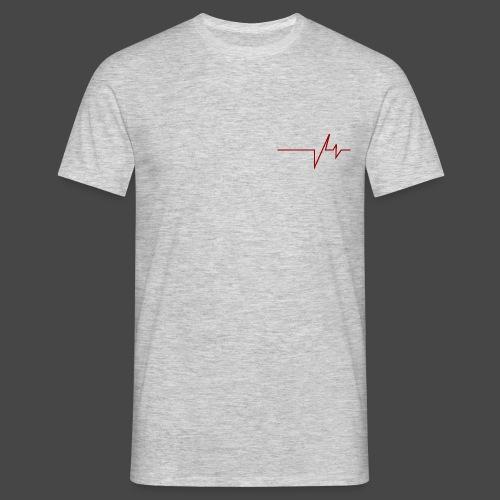 Heartbeat V4 - Mannen T-shirt