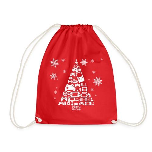 Videospiele Weihnachtsbaum | Turnbeutel/Gym Bag - Drawstring Bag