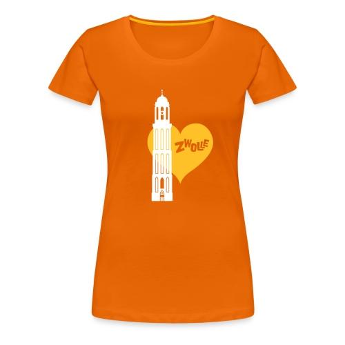 Hartenstad Zwolle Premium T-Shirt - Vrouwen Premium T-shirt
