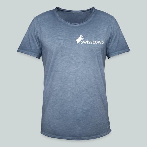 T-Shirt Swisscows links - Männer Vintage T-Shirt