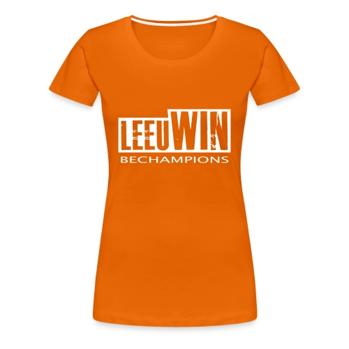 BECHAMPIONS - Vrouwen Premium T-shirt