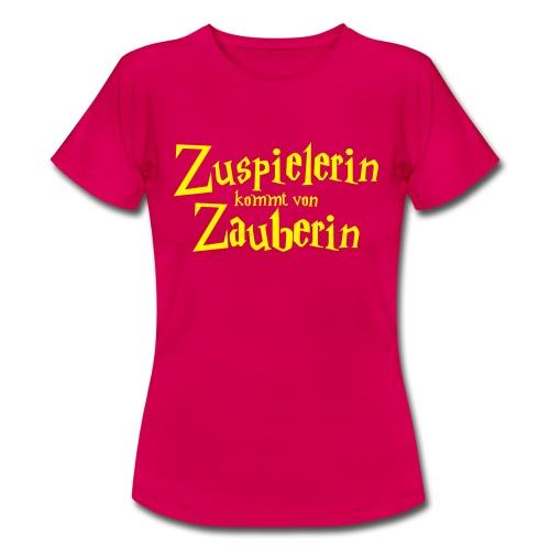 VolleyballFREAK Zuspielerin Zauberin - Frauen T-Shirt