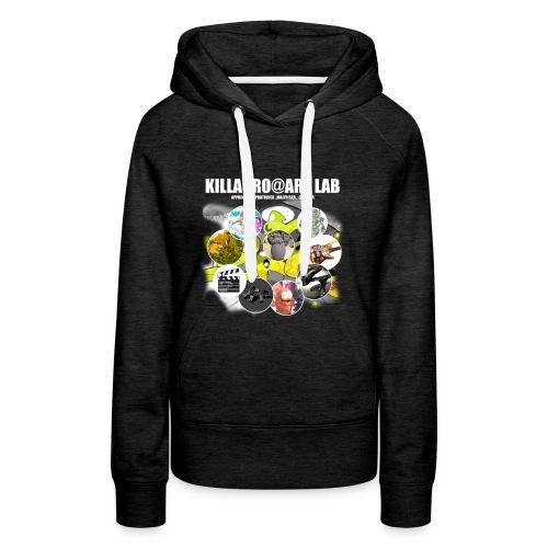 KLR@ART LAB  - Sweat-shirt à capuche Premium pour femmes