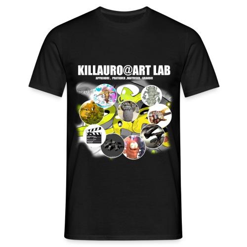 KLR@ART LAB 1A - T-shirt Homme
