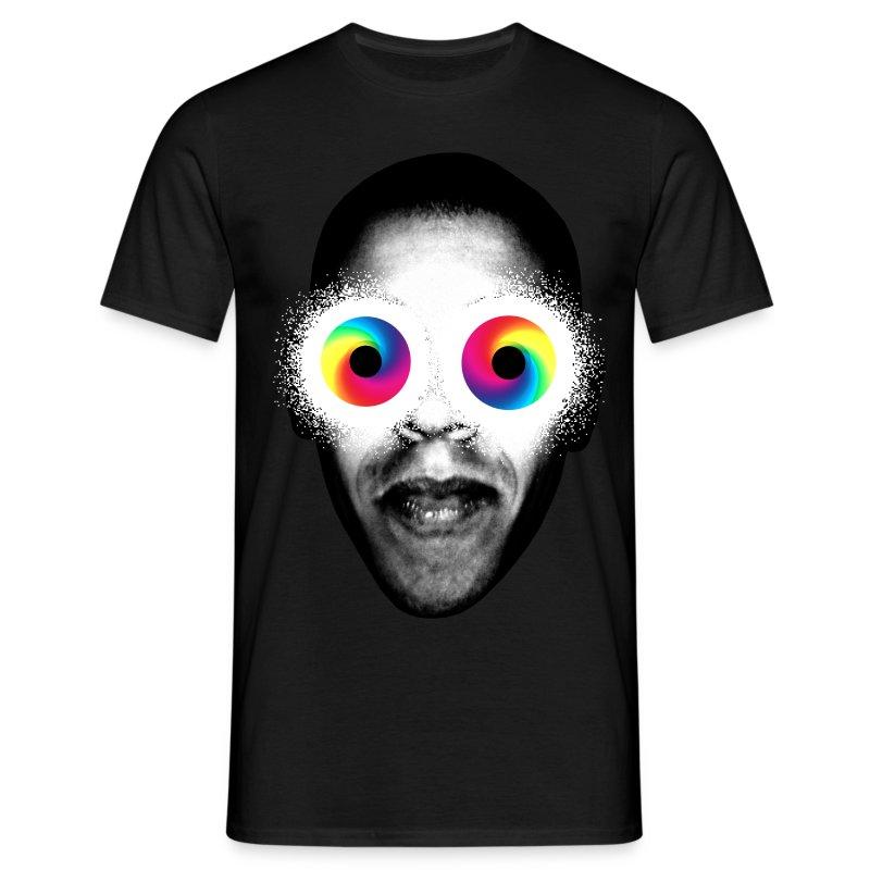 PSYKEDELISKA ÖGON! - T-shirt herr