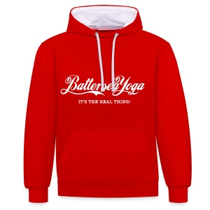 Battersea Yoga - It's the real thing - Contrast Colour Hoodie