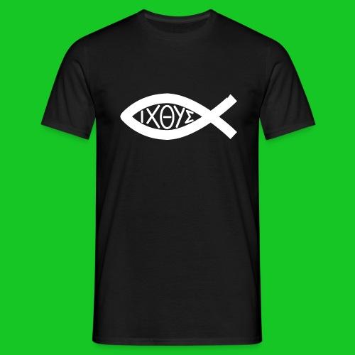 Ichthus heren t-shirt - Mannen T-shirt