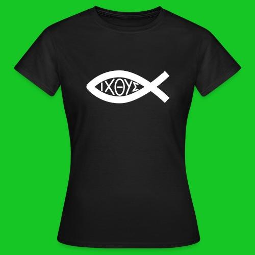 Ichthus daers t-shirt - Vrouwen T-shirt