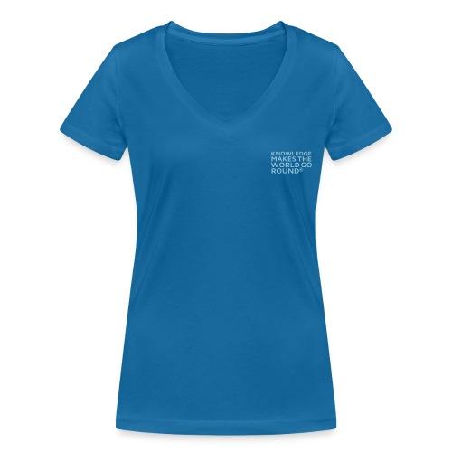 Frauen Bio T-Shirt - Frauen Bio-T-Shirt mit V-Ausschnitt von Stanley & Stella