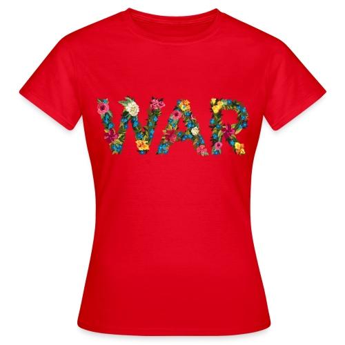 Flower war - Women's T-Shirt