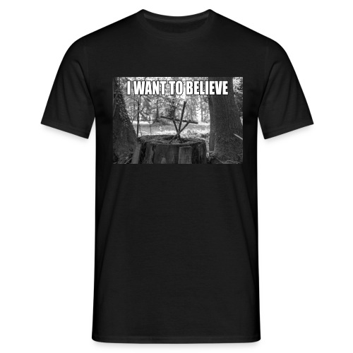 I want to believe Männershirt - Männer T-Shirt