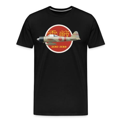 A6M Zero - T-shirt Premium Homme