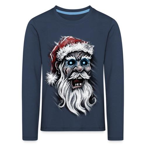 Zombie Santa Claus - Kids' Premium Longsleeve Shirt
