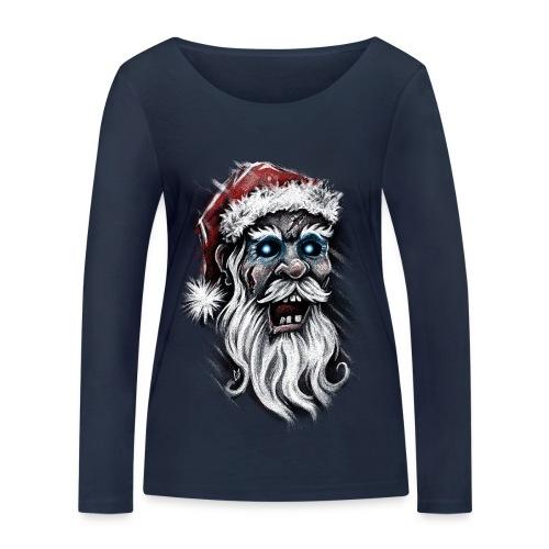 Zombie Santa Claus - Women's Organic Longsleeve Shirt by Stanley & Stella