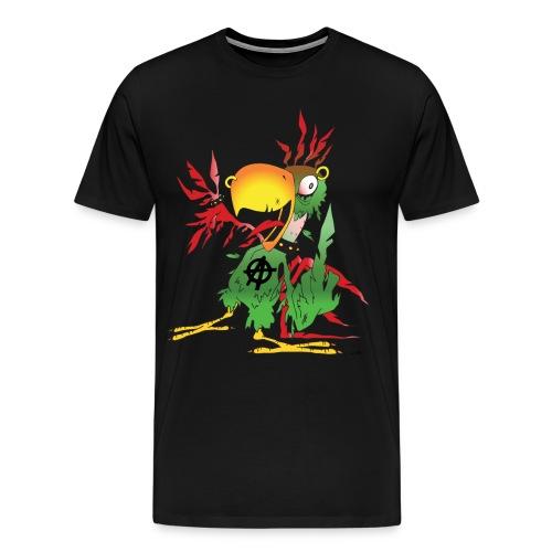 Sebb gir nu faen i Stor - Premium T-skjorte for menn
