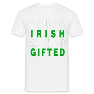 Young Irish and Gifted - Men's T-Shirt