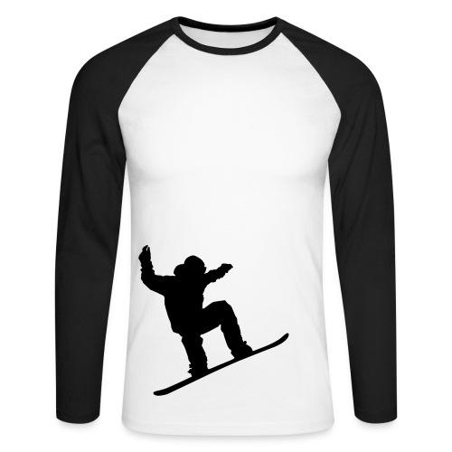 crewboard - Langermet baseball-skjorte for menn