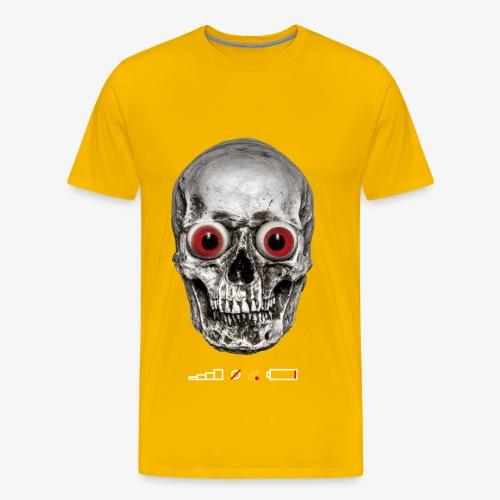 Akku leer, kein Netz, kein WLAN / Battery Low No Service No Wifi - Männer Premium T-Shirt