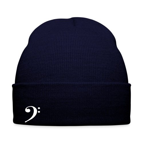 Bass Clef Beenie Hat - Winter Hat