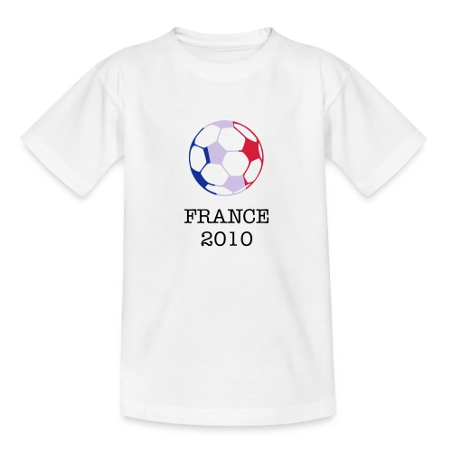Childrens - Tricolour Football - Teenage T-Shirt