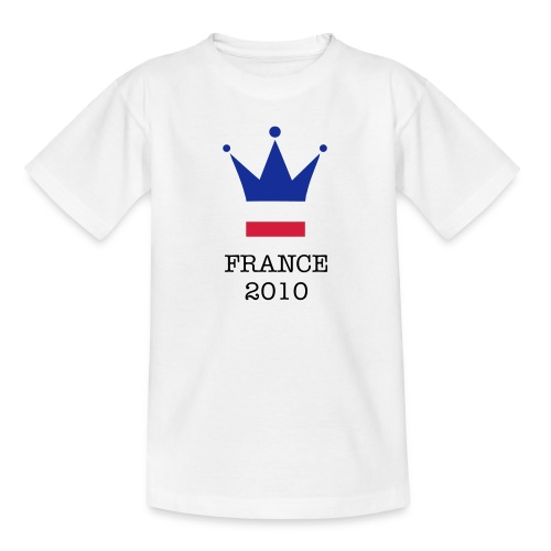 Childrens - Crown - Teenage T-Shirt