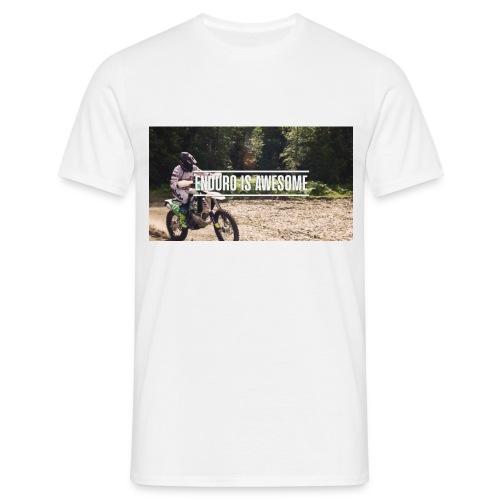 Awesome Enduro Tee - T-skjorte for menn