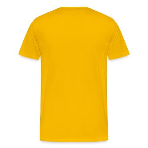 Die Kraft der Farbe Gelb - Männer Premium T-Shirt
