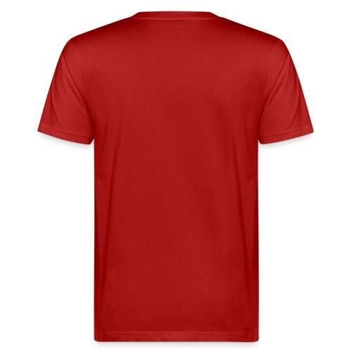 Die Kraft der Farbe Rot - Männer Bio-T-Shirt