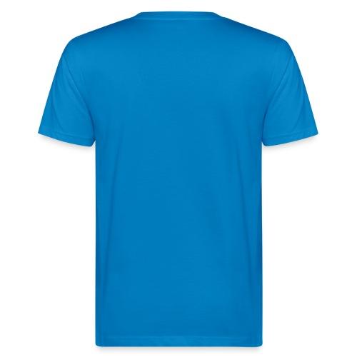 Die Kraft der Farbe Blau - Männer Bio-T-Shirt