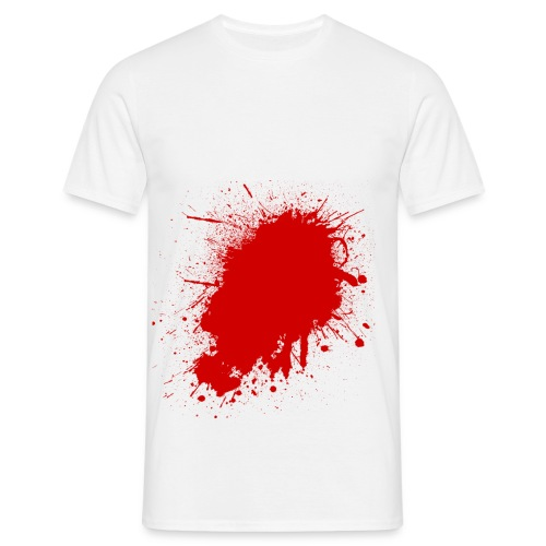 Blood Splatter - Men's T-Shirt