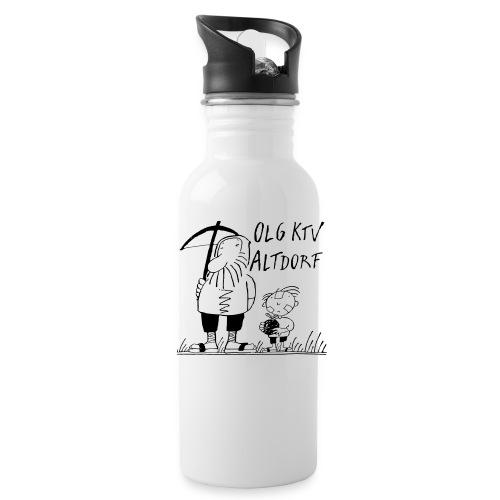 Trinkflasche weiss - Trinkflasche