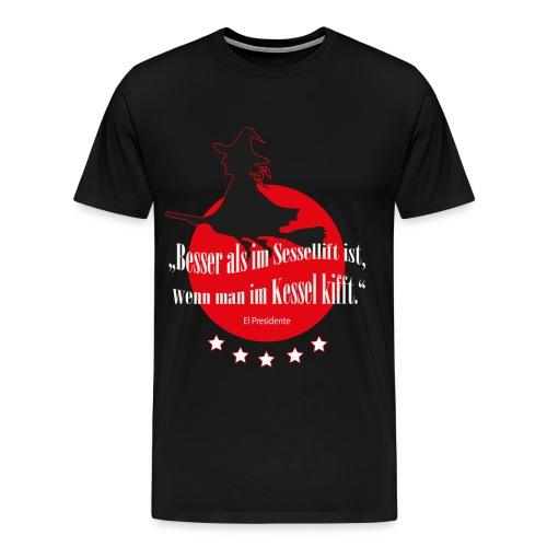 Kessel-Shirt Herren - Männer Premium T-Shirt