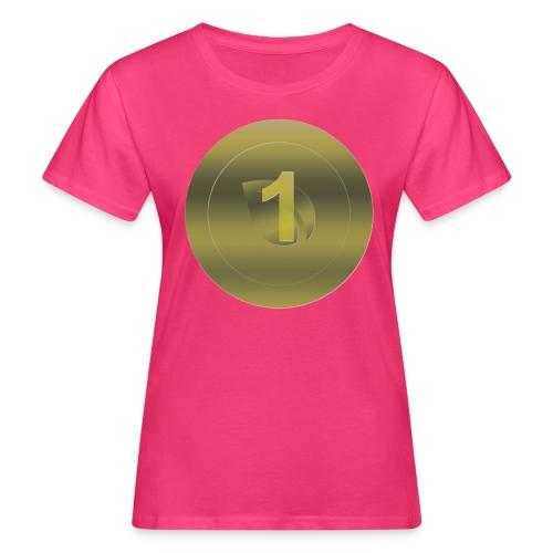 1 Peercoin - Frauen Bio-T-Shirt
