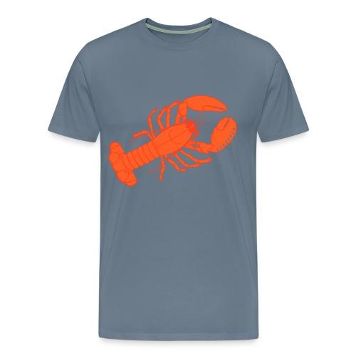 Stripe24 Lobster Horace - Men's Premium T-Shirt
