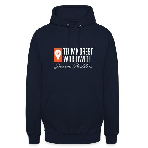 TNR Navy Blue Unisex Hoodie - Unisex Hoodie