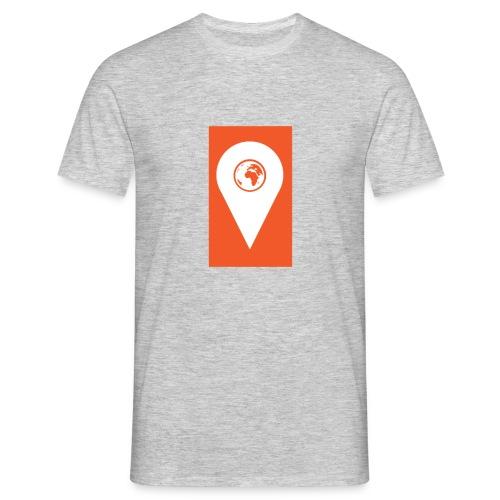 TNR T-Shirt With Orange Tag Emblem - Men's T-Shirt