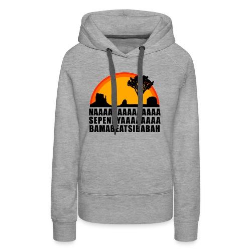 African Sun - Frauen Premium Hoodie