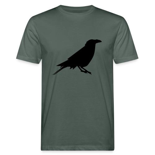 Rabenshirt dunkelgrau - Männer Bio-T-Shirt