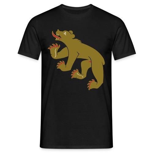 Berner-Bär plus (gold) - Männer T-Shirt