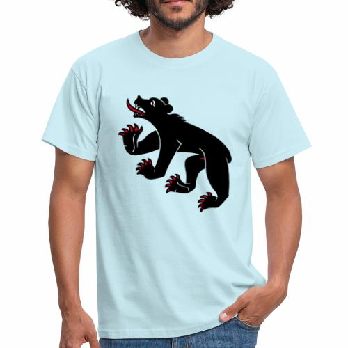 Berner-Bär Shirt (Samt) - Männer T-Shirt