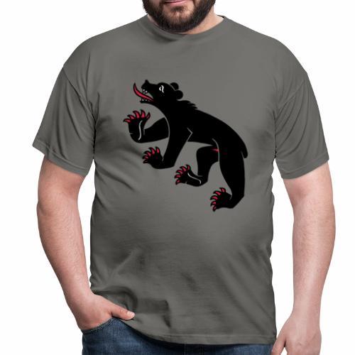 Berner-Bär Shirt (glatt) - Männer T-Shirt