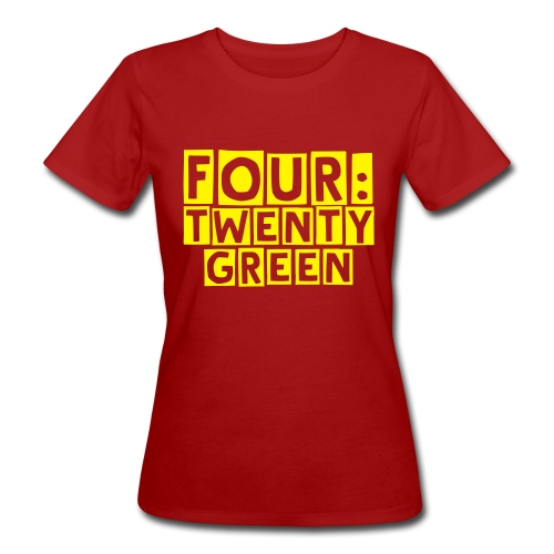 four:twenty limited Girlie, Green - Women's Organic T-Shirt