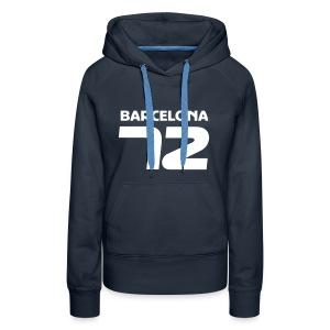 Barcelona 72 - Women's Premium Hoodie