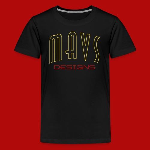 Unisex Teenager Premium Shirt Mavs Designs - Teenager Premium T-Shirt