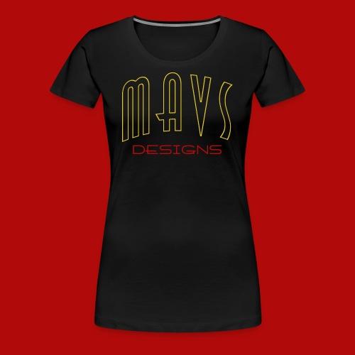 Damen Premium Shirt Mavs Designs - Frauen Premium T-Shirt