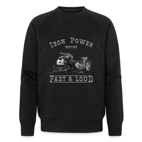 Iron Power | Biker Sweatshirt - Männer Bio-Sweatshirt von Stanley & Stella
