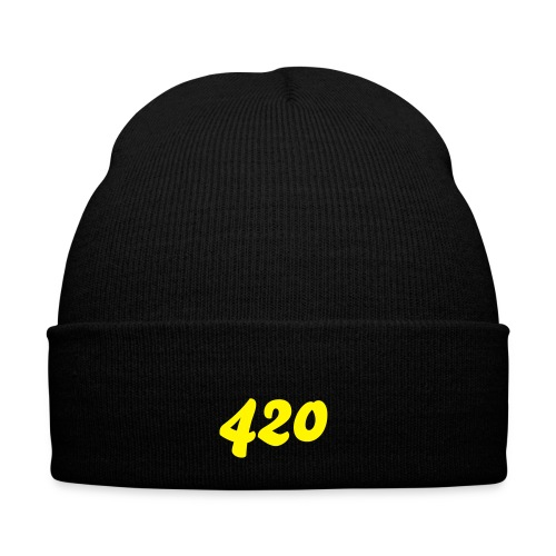 420 Winter Cap, Green - Winter Hat