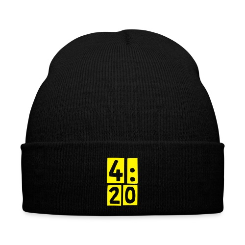 4:20 Winter Cap, Green - Winter Hat