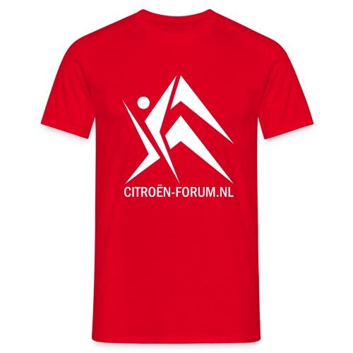 Classic Rood - Mannen T-shirt